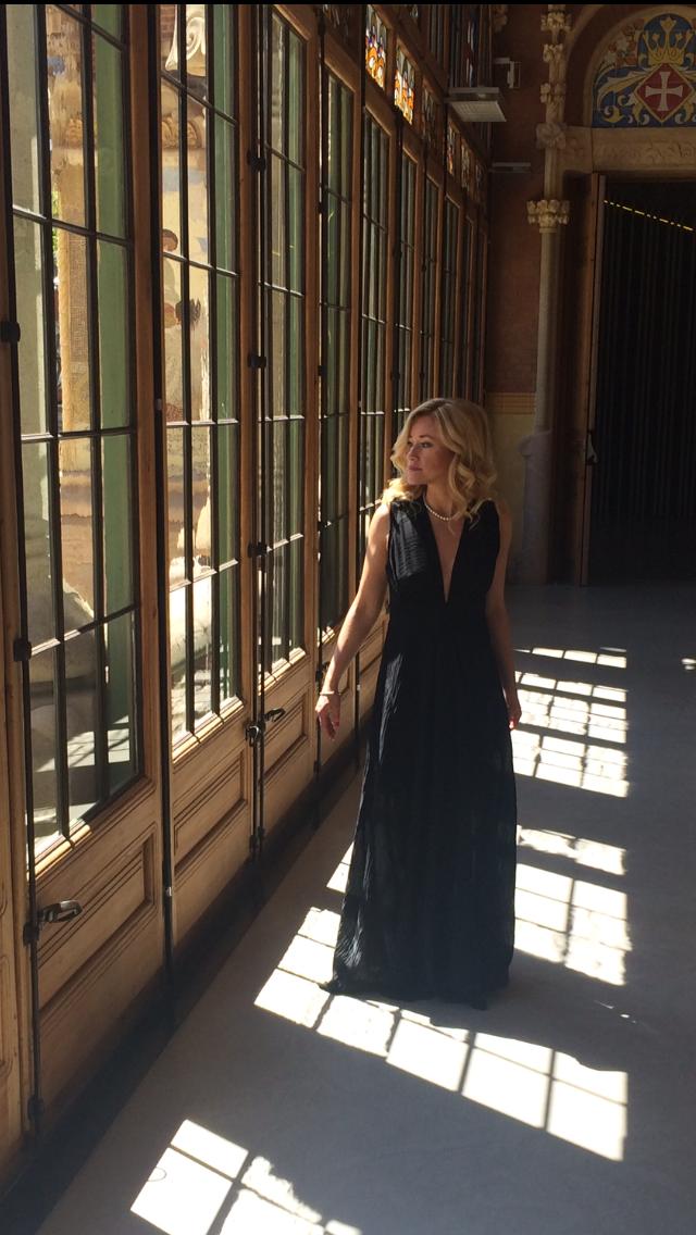 Ekaterina Donchenko realiza su primer concierto en el Recinto de Sant Pau